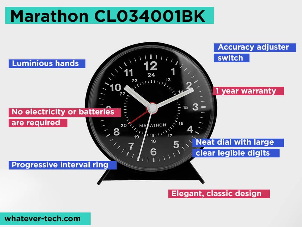Marathon CL034001BK Review, Pros and Cons