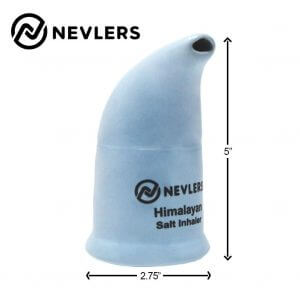Nevlers Himalayan Salt Inhaler size