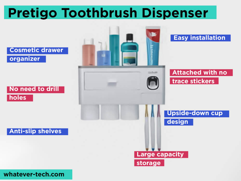 Pretigo Toothbrush Dispenser Review, Pros and Cons