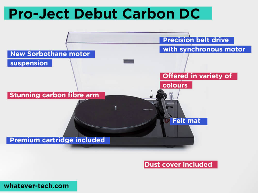 Pro-Ject Debut Carbon DC Review, Pros and Cons