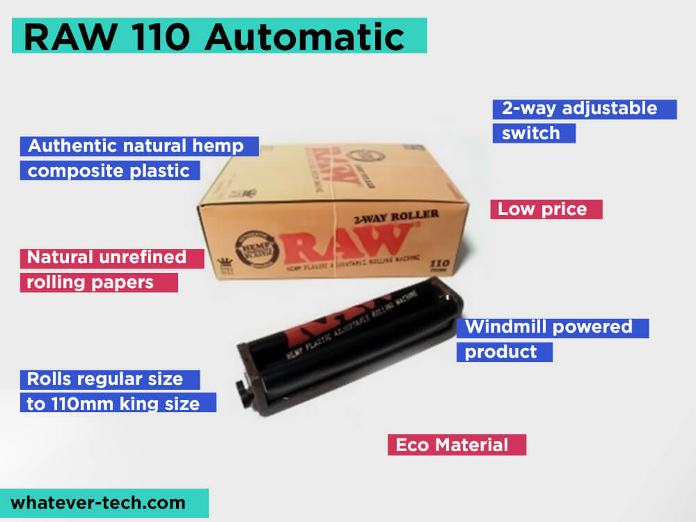 RAW 110 Automatic Review, Pros and Cons