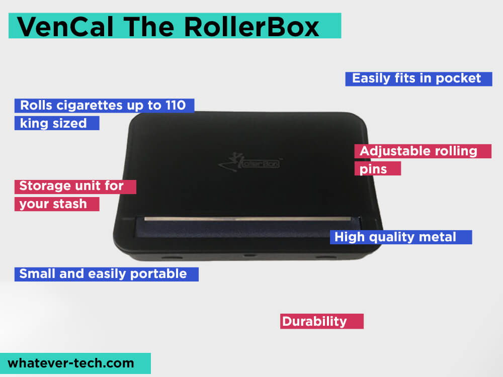VenCal The RollerBox Review, Pros and Cons