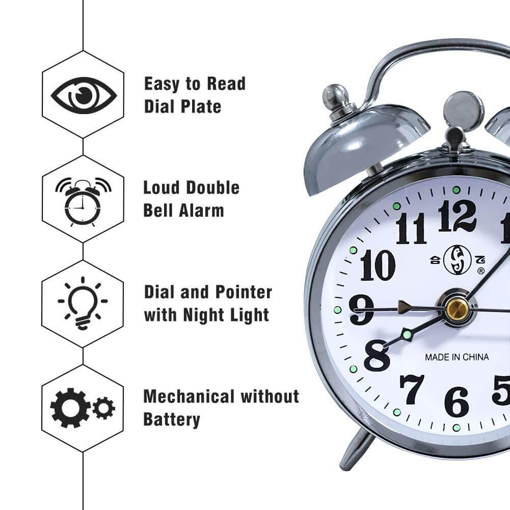 Wind Up Alarm Clock - Design
