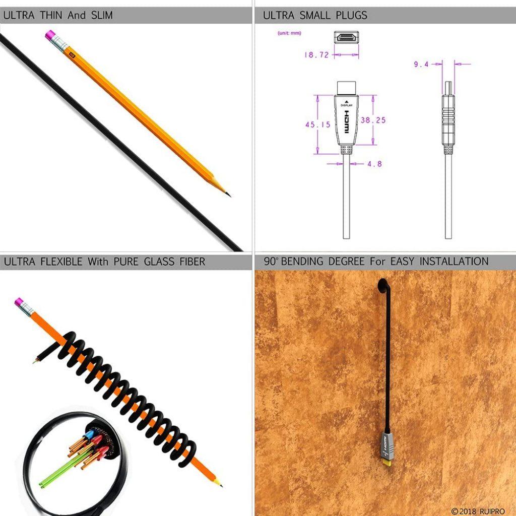 Advantages of Fiber HDMI Cables