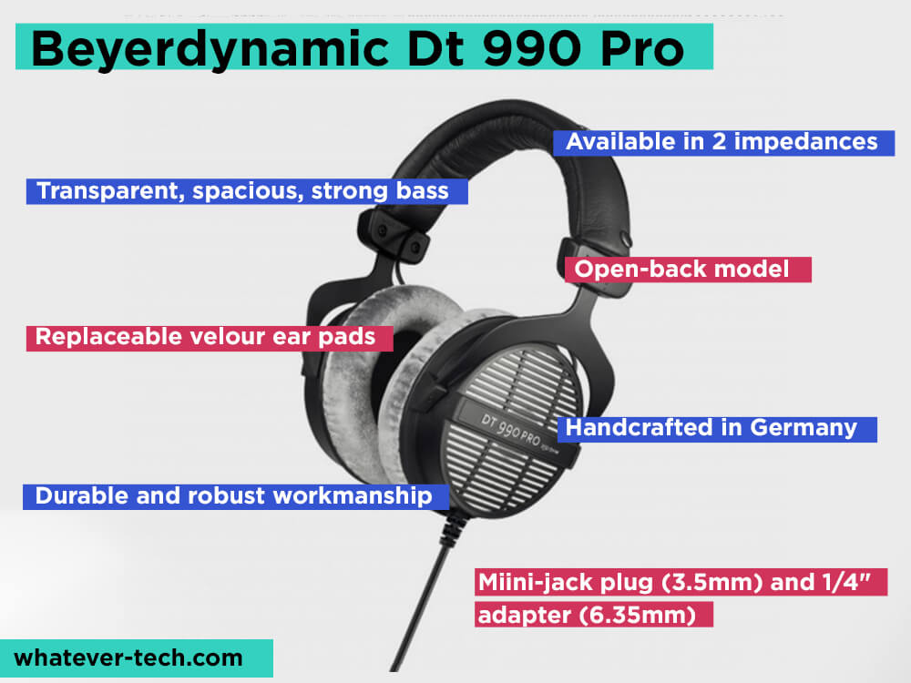 Beyerdynamic Dt 990 Pro Review, Pros and Cons