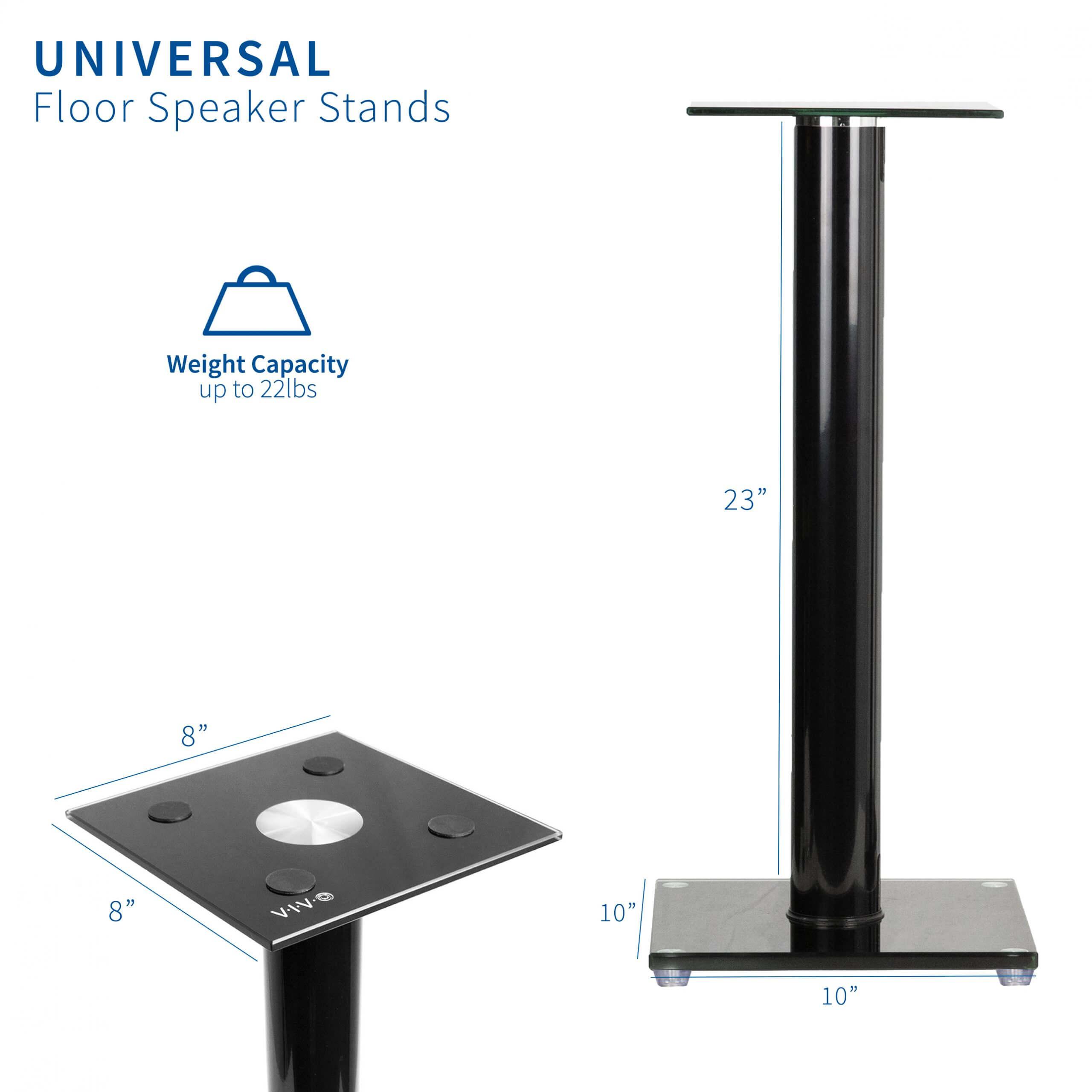 Bookshelf Speaker Stands - Weight Capacity