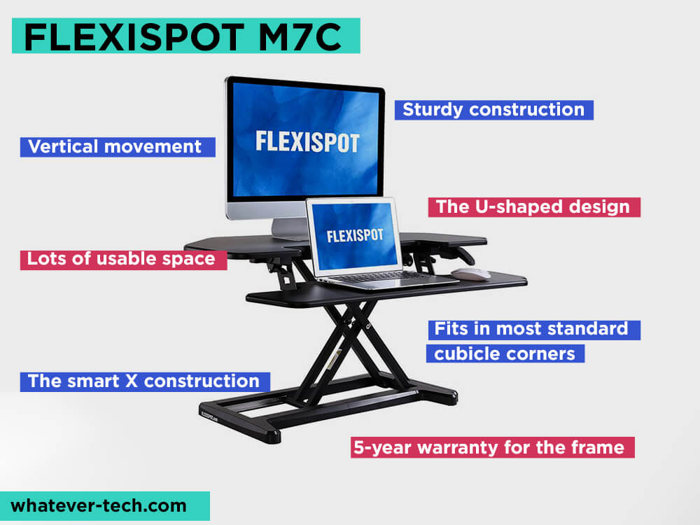 FLEXISPOT M7C Review, Pros and Cons