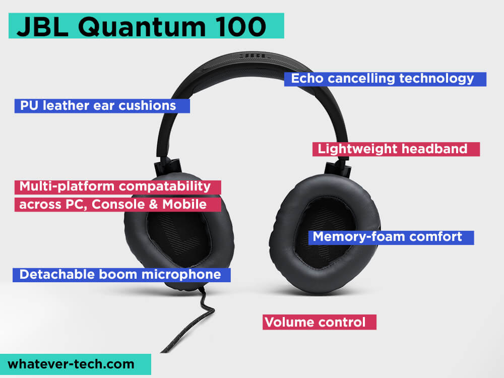 JBL QUANTUM 100 Review, Pros and Cons