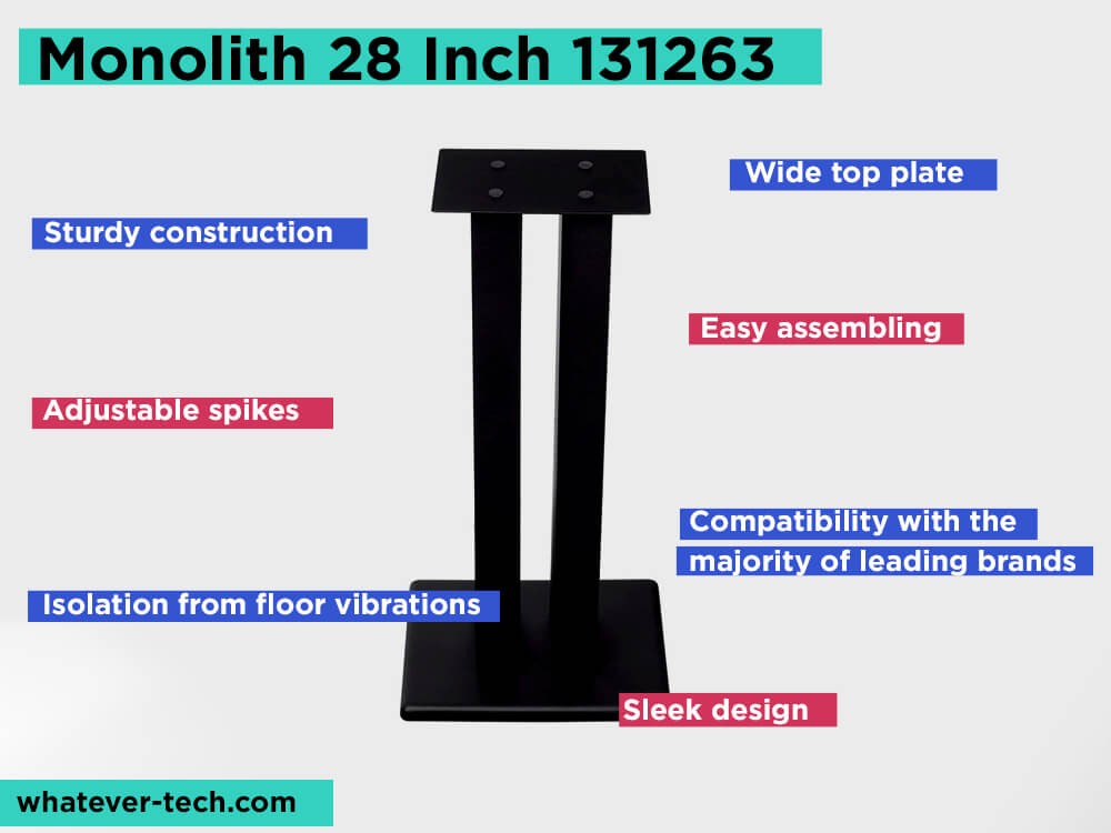 Monolith 28 Inch 131263 Review, Pros and Cons