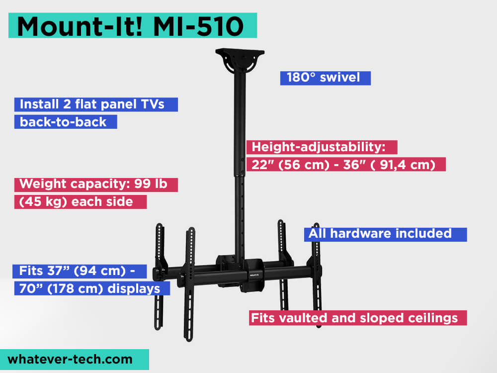 Mount-It! MI-510 Review, Pros and Cons