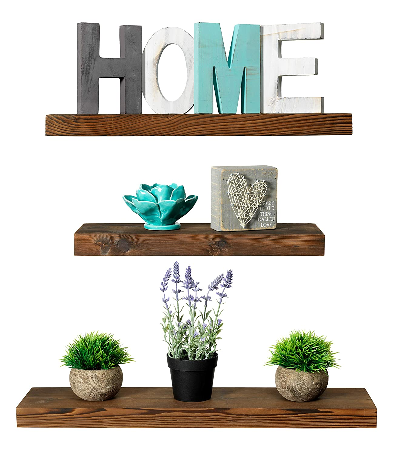 Rustic Farmhouse Floating Shelves Review