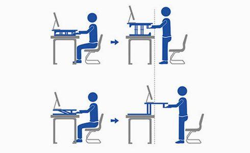 Standing Desk Converters - health benefits
