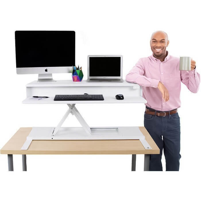 Standing Desks Converters -No need to dispose of the old desk-