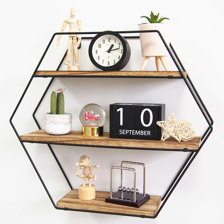TFer Hexagon Floating Shelves Review