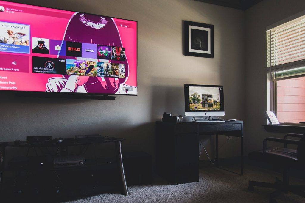 The size of your TV will help you figure out how to set it