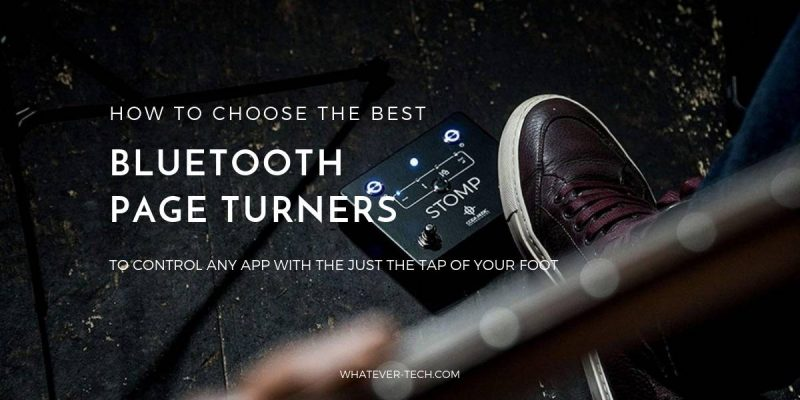 Best Bluetooth Page Turners 2019