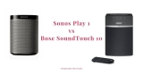 Tiny but powerful: What you Need to know about Sonos Play 1 vs Bose SoundTouch 10 Speakers